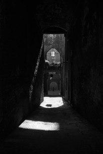 Corridor in Siena.